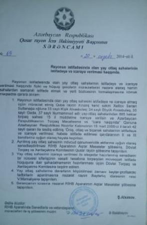 """""""Sədərək Yusif"""" prezidentin etimad göstərdiyi xınalıqlı ailələrə təzyiq edir-"""