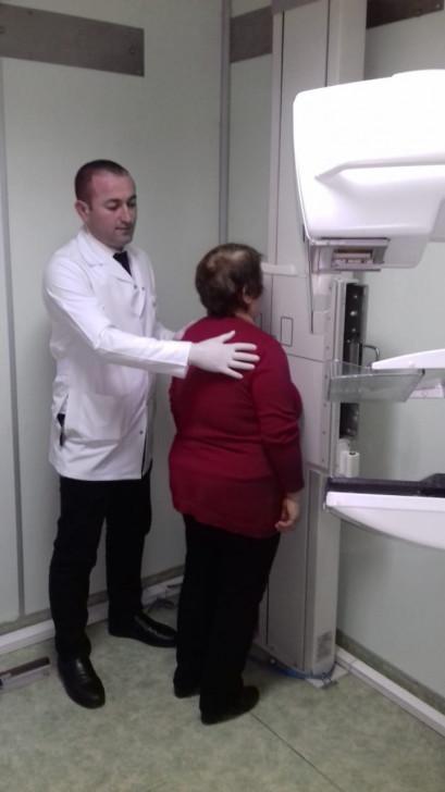 Rəsulzadə qəsəbəsində sakinlərin onkoloji müayinəsi keçirilir-