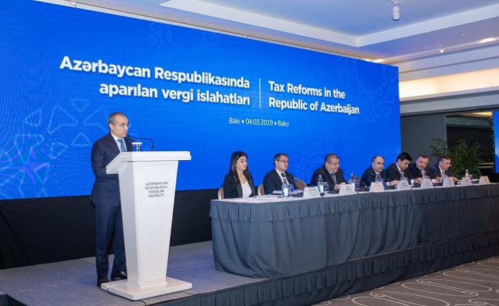 Diplomatik korpusun nümayəndələri vergi qanunvericiliyində edilmiş dəyişikliklər barədə məlumatlandırılıb