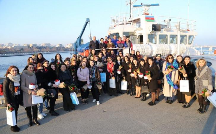 ASCO 8 Mart Beynəlxalq Qadınlar Günü ilə bağlı gəmi turu təşkil edib