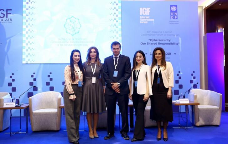Azercell VI Regional İnternet İdarəçilik Forumunda iştirak edib
