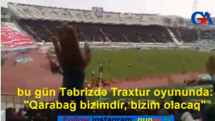 """Təbriz yenə coşdu: """"Qarabağ bizimdir!""""-VİDEO"""