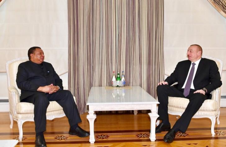 Prezident OPEC-in baş katibini qəbul edib