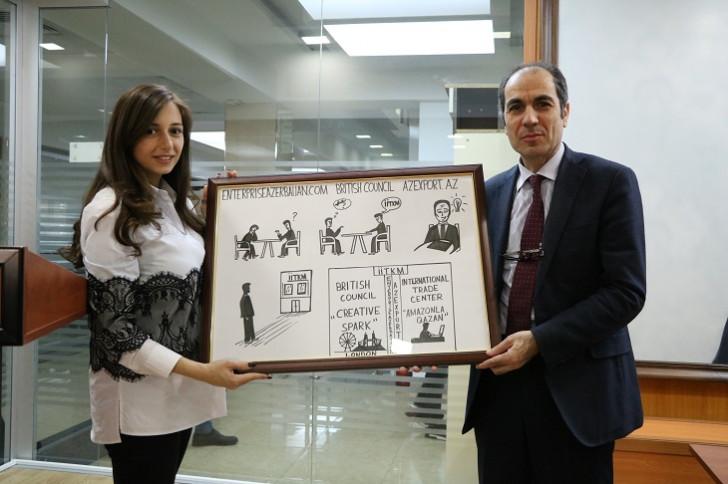 Enterprise Azerbaijanın növbəti startap təlimi Azərbaycan Universitetində keçirilib
