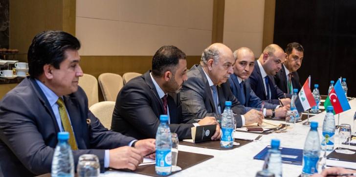 """Pərviz Şahbazov """"OPEC plus"""" tədbiri çərçivəsində bir sıra görüşlər keçirib-"""