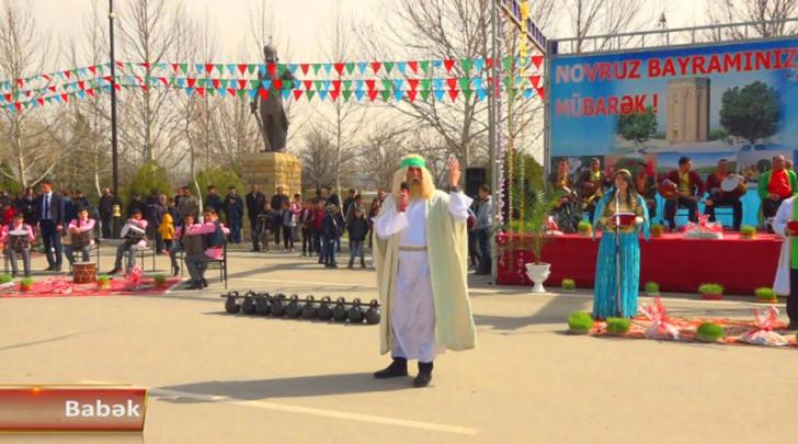 Naxçıvanda Novruz bayramı yüksək əhval-ruhiyyə ilə qeyd edilib-