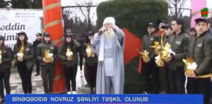 Binəqədi rayonunda Novruz şənliyi keçirilib-