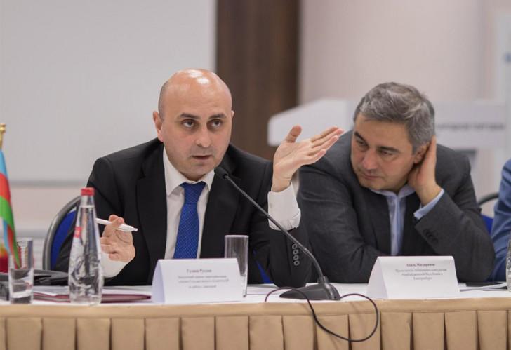 """""""Qlobal çağırışlar: ekstremizmə qarşı diasporun rolu"""" mövzusunda müzakirələr aparılıb-"""