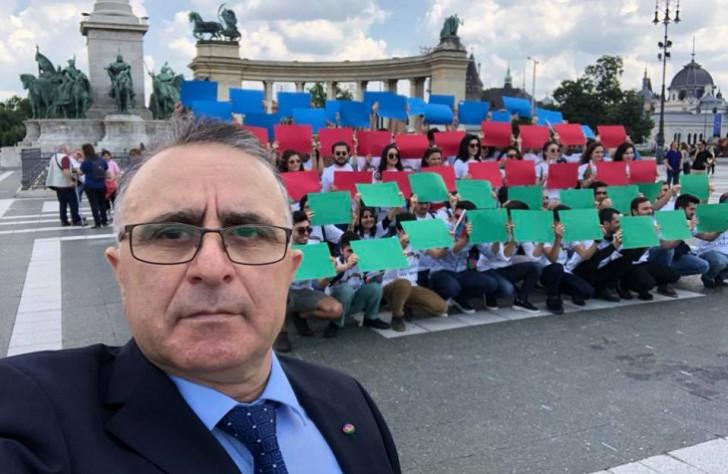 Budapeştdə yaşayan azərbaycanlı cəmiyyət rəhbəri