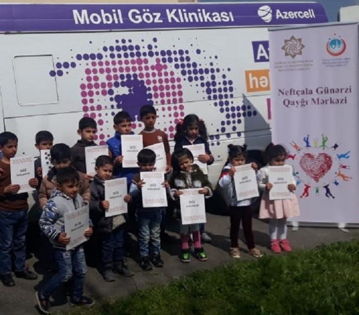 Azercell Novruz bayramında ödənişsiz göz müayinələrini davam etdirib