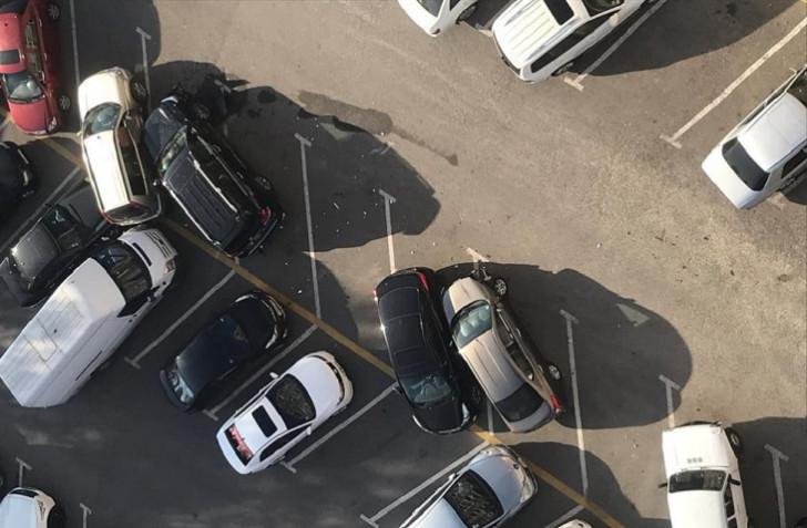 """Bakıda 12 avtomobili əzən """"Toyota Land Cruiser""""in sürücüsü saxlanıldı-"""