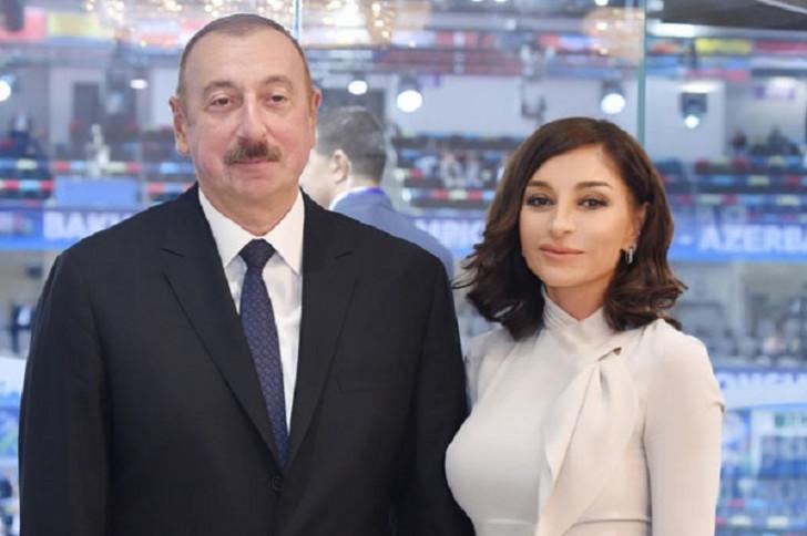 Prezident və xanımı V Ümumdünya Mədəniyyətlərarası Dialoq Forumunda iştirak edir