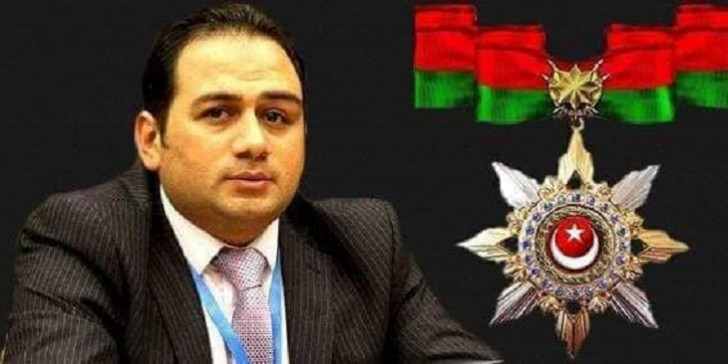 """Səbuhi Abbasov """"Xüsusi xidmətlərə görə"""" ordeni ilə təltif edildi"""