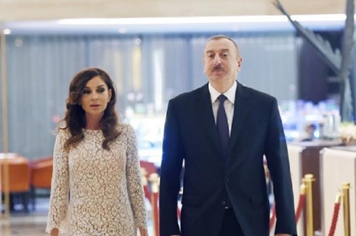 Prezident İlham Əliyev Qobustan rayonuna səfərə gəlib