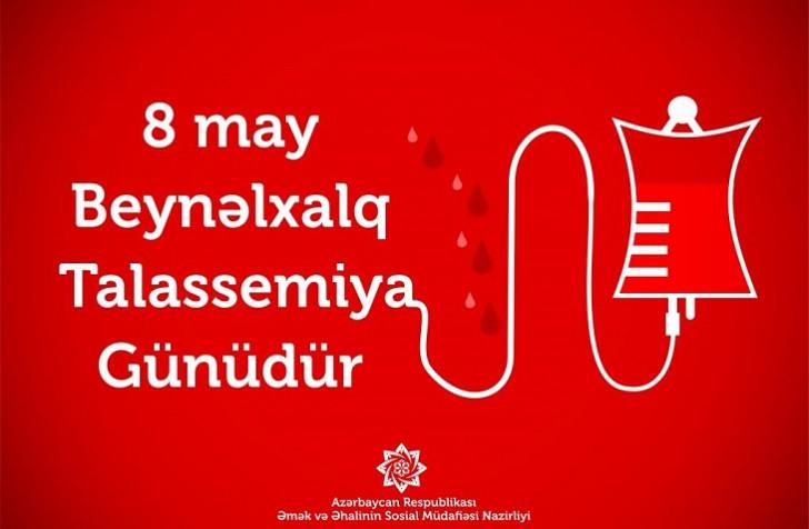 Bu gün Beynəlxalq Talassemiya Günüdür