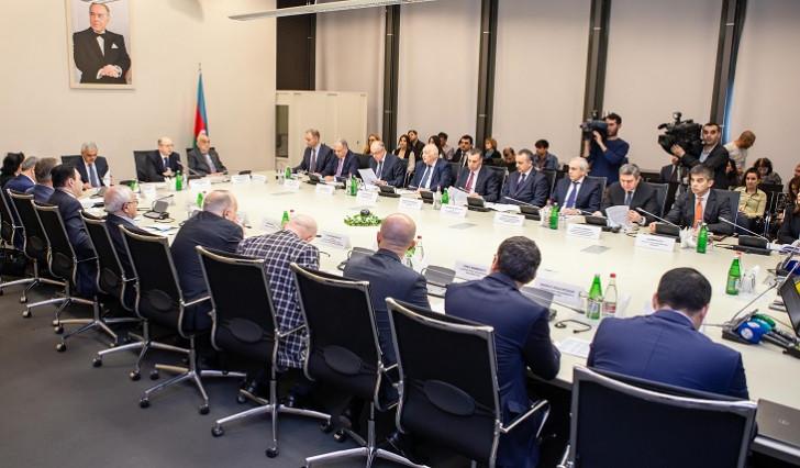 Azərbaycan Milli Neft Komitəsinin iclası keçirilib