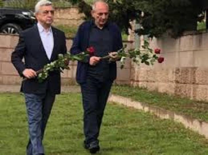 Sarkisyan hələ də Qarabağdadır