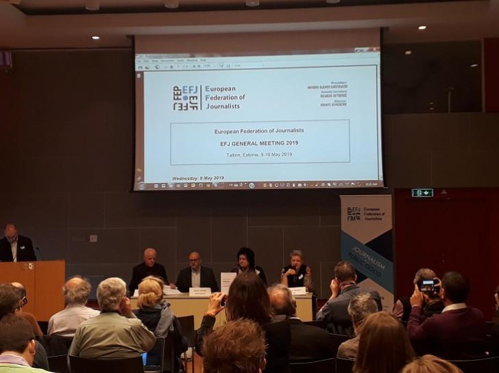 Avropa Jurnalistlər Federasiyasının Baş Toplantısı keçirilib