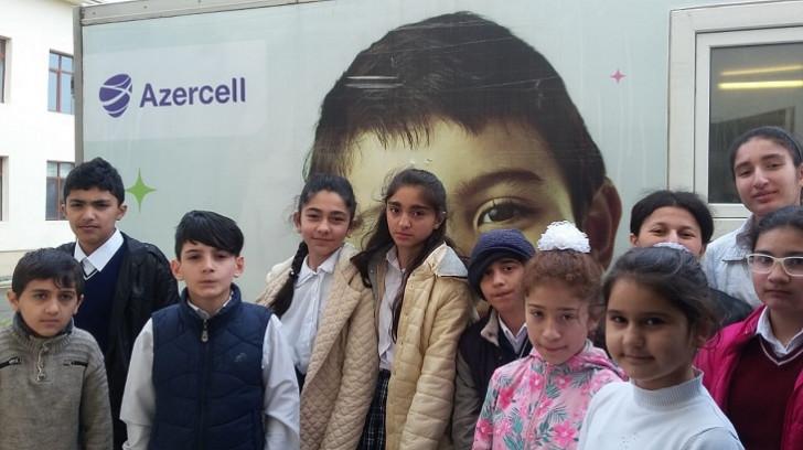 """""""Azercell""""in """"Mobil Diş Klinikası"""" təmənnasız tibbi müayinələrin təşkilini davam etdirir"""