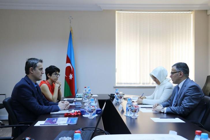 Vüsal Qasımlı UNDP missiyasını qəbul edib