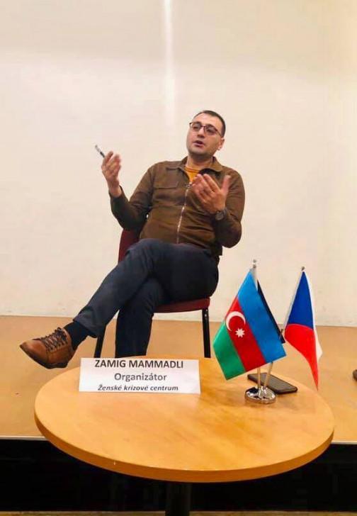 Çexiyada Qarabağ münaqişəsinə beynəlxalq ictimaiyyətin ikili standartlarından danışılıb