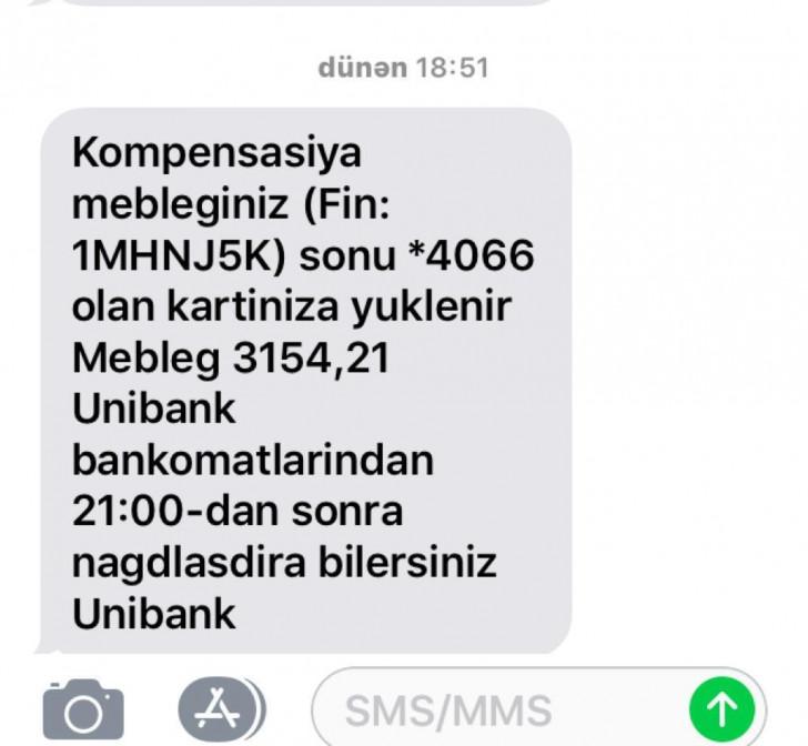 """Kompensasiya aldıqdan sonra da """"Unibank""""ın qanunsuz önəniş tələblərilə üzləşmiş jurnalist Maliyyə... Nəzarəti Palatasına müraciət etdi"""