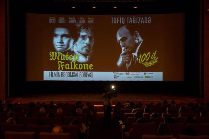 """Balans Studiyası Tofiq Tağızadənin 100 illiyinə """"Mateo Falkone"""" filmini bərpa etdi-"""