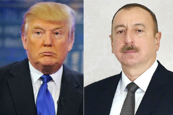 Donald Tramp İlham Əliyevə məktub göndərib