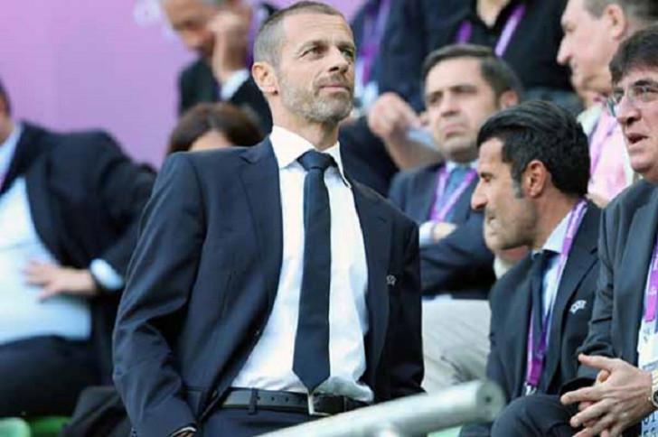 UEFA prezidenti Bakıdakı oyunla bağlı danışdı