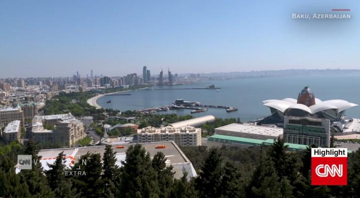 Канал CNN посвятил сюжет финалу Лиги Европы УЕФА-2019 в Баку