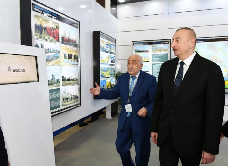 İlham Əliyev sərginin açılışıda iştirak edib-