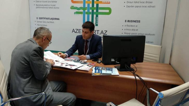 """Azexport portalı beynəlxalq """"TransCaspian 2019"""" sərgisində təmsil olunur -"""