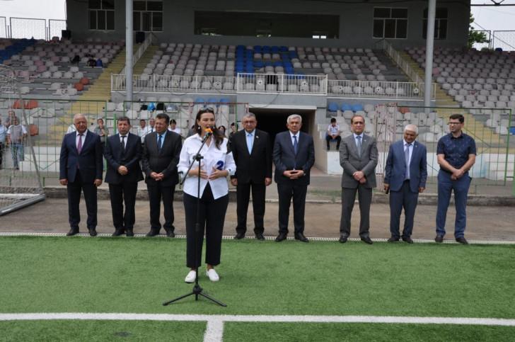 """Tovuzda """"Açıq Əyləncəvi Futbol Məktəbləri"""" layihəsinin tədbiri keçirilib -"""