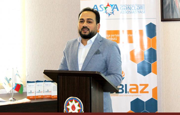 Azərbaycan-Slavyan Gəncləri Assosiasiyası Şuranın dəstəyi ilə yaratdığı LOBBİ.az saytını təqdim etdi -