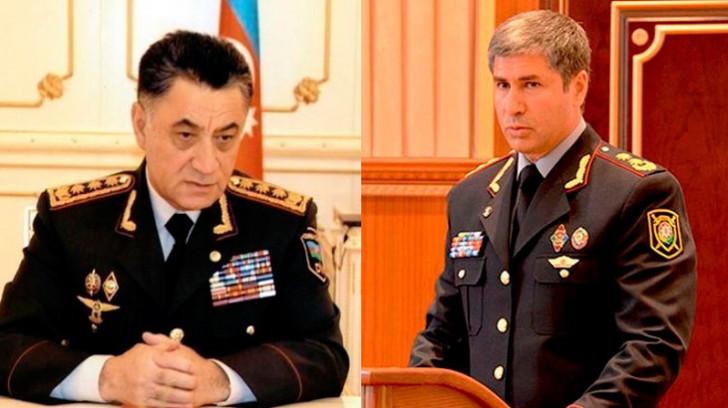 Ramil Usubov kollektivlə sağollaşdı -