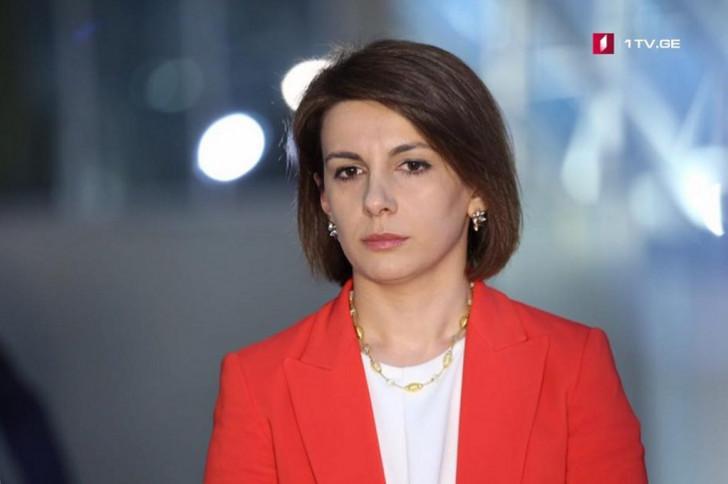 Tamar Çuqoşvili Gürcüstan parlamentinin müvəqqəti spikeri oldu