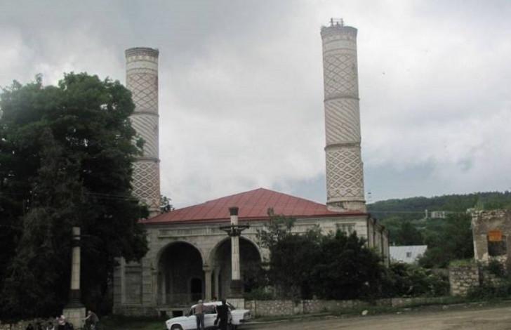 İran şirkəti Qarabağda Şuşa məscidini bərpa edir -