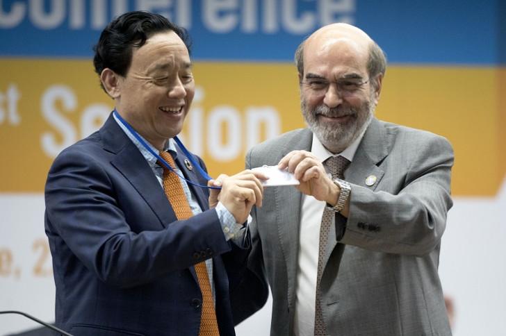 Çin nümayəndəsi FAO-nun baş direktoru seçilib