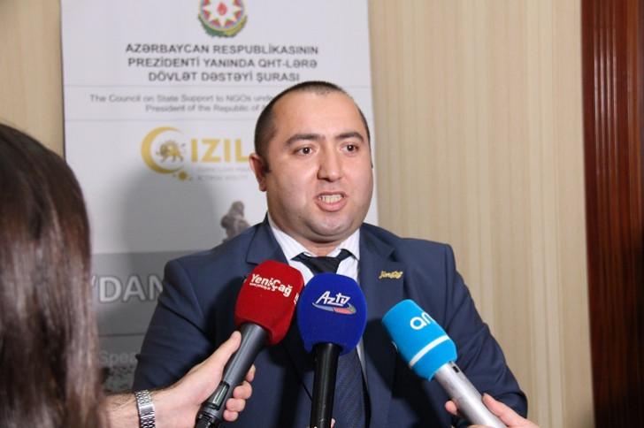 """""""DANIŞIR XOCALI"""" sənədli filmi təqdim olunub -"""