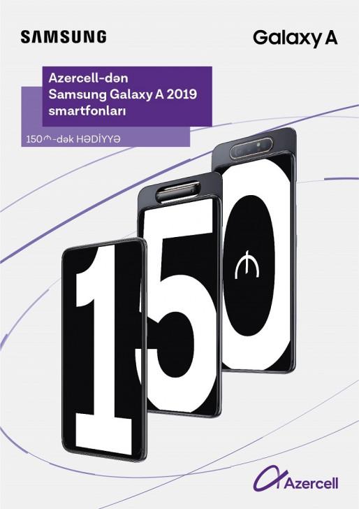 Bu yay Samsung smartfonu və hədiyyələr Azercell-dən!