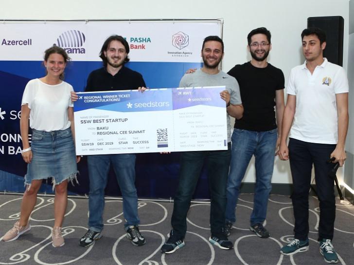 """Azercell-in dəstəyi ilə keçirilən """"Seedstars Baku 2019"""" müsabiqəsinin qalibi bəlli oldu"""