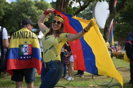 """""""Copa Amerika""""nın tribuna gözəlləri -"""
