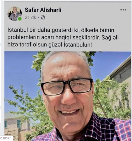 Azay Quliyevin işçisi Azərbaycandakı seçkilərin demokratikliyini şübhə altına aldı-