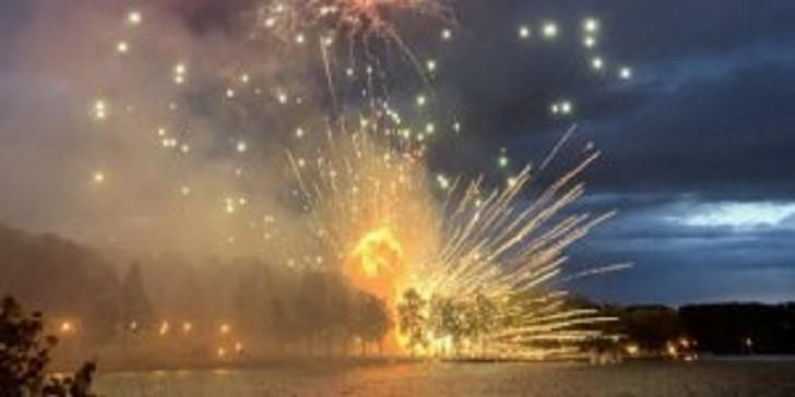 Minskdə bayram atəşfəşanlığı zamanı raketlər partladı-