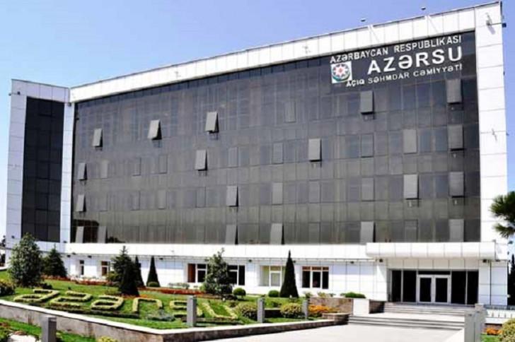 """""""Azərsu"""" ASC-də struktur dəyişiklikləri oldu"""