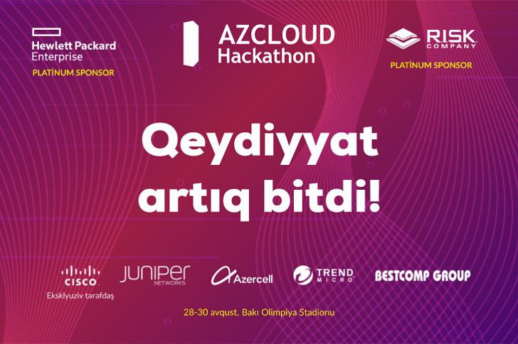 """""""AZCLOUD Hackathon 2019""""-da iştirak edəcək komandaların adları avqustun 8-də açıqlanacaq"""