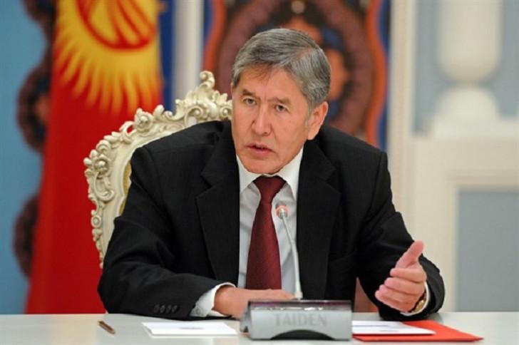 Almazbek Atambayev həbs olunub