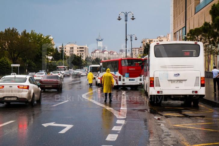BNA yağışlı hava ilə əlaqədar tədbirlər həyata keçirib