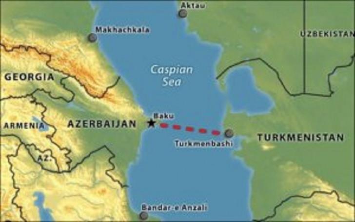 Xəzərdən Azərbaycana qaz kəməri: