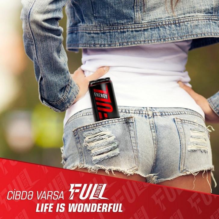 """""""FULL Energy""""inin bayağı və erotik reklamı:"""